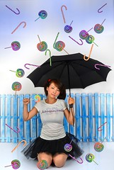 It's Raining candy! (ryklin) Tags: portrait color art colors colorful candy artistic portraiture odc d7000 ourdailychallenge nikon18200vrll