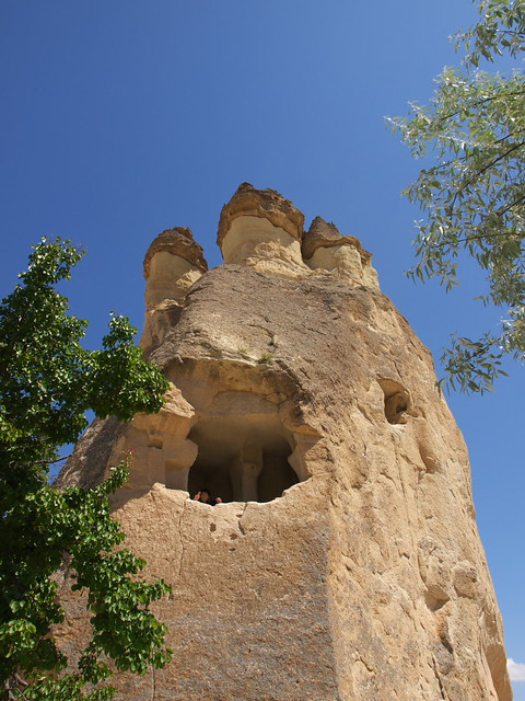 Cappaodcia的奇岩地形
