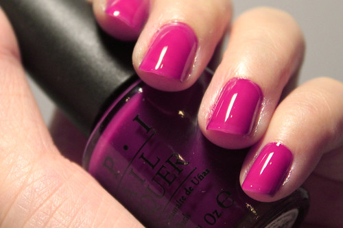 OPI Houston We Have A Purple (2/2)