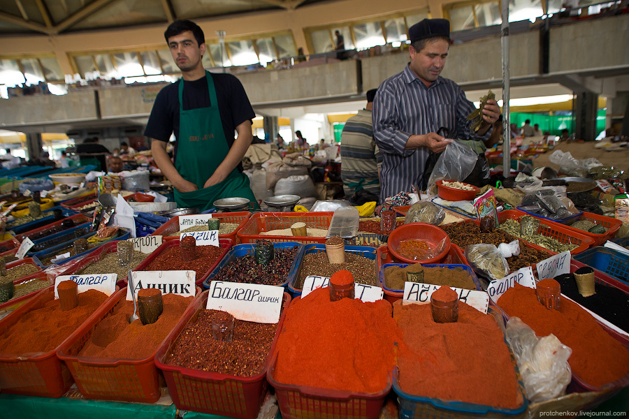 Bazar in Tashkent