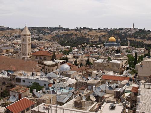 Barrio Cristiano - Museo Torre de David (vistas)