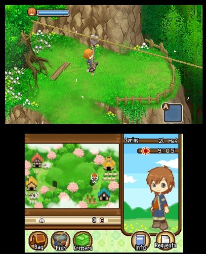 E3 2011: Harvest Moon: The Tale of Two Towns Hands-On Preview (2)