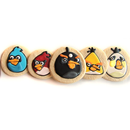 ANGRY BIRDS COOKIES 1