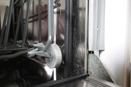 Sopp i oppvaskmaskin