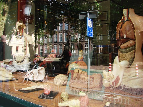 Unusual Window Display