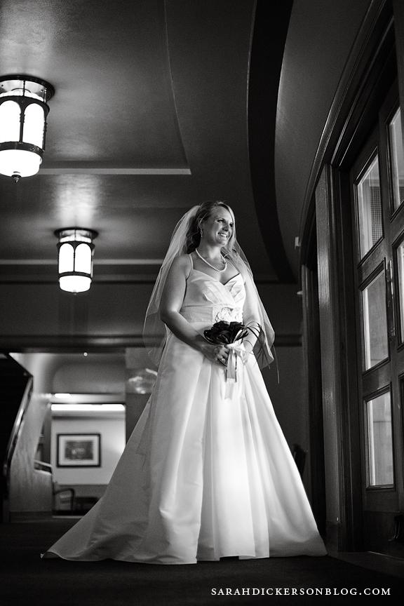 Unity Temple Plaza Kansas City wedding photographer