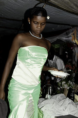 Uganda Wedding Feast (cowyeow) Tags: africa family wedding girls friends party food woman sexy green cakes girl beautiful cake guests feast dinner rural children dessert happy dance yummy women pretty village sweet african limegreen traditional ceremony marriage can celebration reception sweets lime uganda tease celebrate rhythm teenage younggirls applegreen africanfood exoticfood funnyfood africanwedding