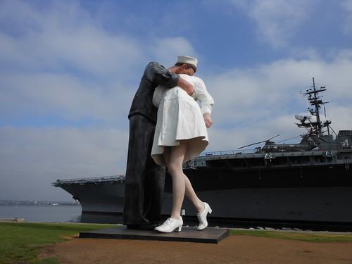 VJ Day in Times Square Statue, San Diego