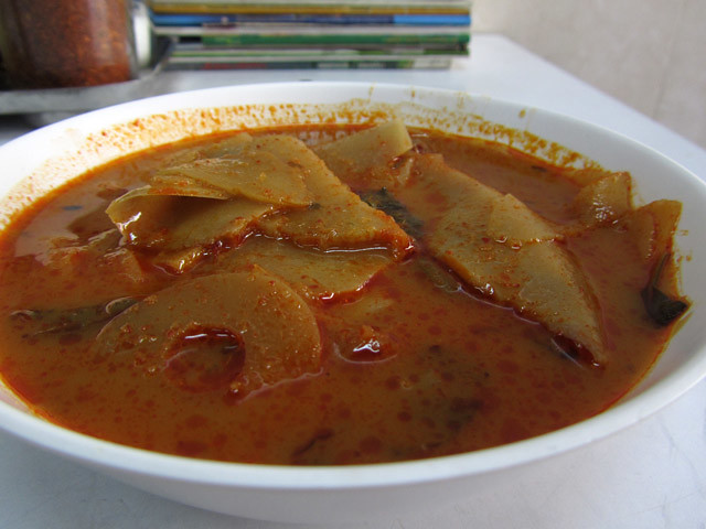 Gaeng Nor Mai (bamboo shoot curry)