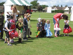 Fancy dress at the fete