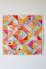 Warm Cool Quilt Along - Finished (Jeni Baker) Tags: 2 modern project quilt handmade sewing year july quilting finished stitching block 365 projects quilts crafting 2011