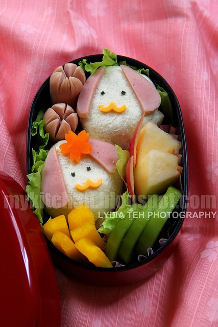 Sweet Corn Sandwich Bento
