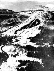 img10045 (Proctor Archives) Tags: skiing map trails 1960s 1960 slopes cranmoremountain