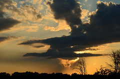 Sunset DSC_0426 (Mully410 * Images) Tags: orange weather yellow clouds gold sunsets storms goldenhour tcaap ahats tcaapwva