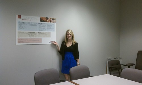 Gabby Practicing Her Presentation