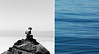 (Maddie Joyce) Tags: ocean california blue sea white black film beach rock 35mm maddie diptych surf hiking adventure joyce