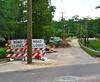 New street obstructions (readerwalker) Tags: tallahassee telephonepoles bizarre streetreconstruction sx110is canonpowershotsx110is franklinblvdtallahasseeflorida