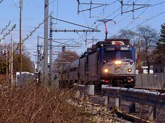 Northeast Regional double header (t55z) Tags: train amtrak locomotive doubleheader aem7 northeastregional