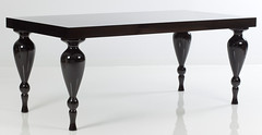 "4183 BLACK LACQUER DINING TABLE • <a style=""font-size:0.8em;"" href=""http://www.flickr.com/photos/43749930@N04/6919620600/"" target=""_blank"">View on Flickr</a>"