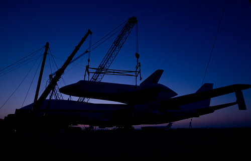 Shuttle Enterprise Mating To SCA (201204200006HQ)