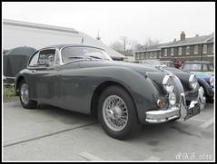 Jaguar (Alan B Thompson) Tags: car picasa olympus medway 2012 sp590uz