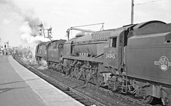 1965: Steam funeral (Nige's Place) Tags: uk england europe britain trains steam engines railways locomotives railroads steamlocomotives