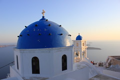 Orthodox Church, Fira (anu) Tags: steeple santorini greece ia greekislands santorin oia grece thira fira greekchurch orthodoxchurch      ilesgrecques