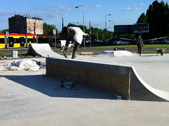 Park is nearly ready. Just the finishing touches to go. (burn // burn Studios) Tags: poland save spot burn rune glifberg