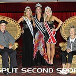 Ms Eldora Speedway Pageant 2012 with Earl and Berneice