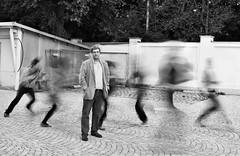 Run 331/365 (Lens felicis) Tags: street portrait selfportrait self germany munich mnchen bayern deutschland bavaria nikon streetphotography run portrt 365 2012 selbstportrt d90 selbstportait project365 365days 365project nikond90 strassenfotografie