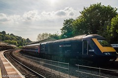 HST 43036 Bath Spa Station (Eyelevel Photography UK) Tags: railway firstgreatwestern 125 railstation hst highspeedtrain class43 fgw 43036 bathsparailwaystation ©ajaphotographyuk