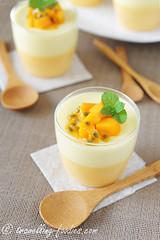 DSC_1656 s (travellingfoodies) Tags: mint mango yoghurt gelatine passionfruit cremefraiche mangue fruitdelapassion fullcream 芒果百香果优格布丁 mangoandpassionfruityoghurtpudding