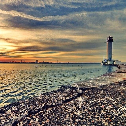 Воронцовский маяк Фото: Odessa life