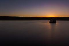 1 rock (A Crowe Photography) Tags: longexposure lake reflection wales rocks sigma sunsets longexpo sigma1020 longexposurephotography welshlandscape welshflickrcymru welshphotographer welshphotography tenstop haida10stopfilter walesnighttime