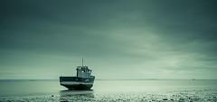 Still boat.jpg (Murdoch333) Tags: longexposure sea coast boat still mood fineart desaturate weldingglass 500px