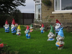 Gnome party (waldopepper) Tags: haworth westyorkshire gnome
