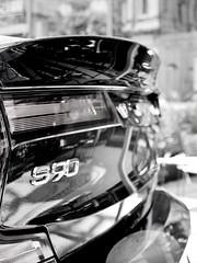 S90 (Darek Drapala) Tags: cars bw blackwhite blackandwhite industrial reflection reflects