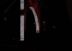 over the bridge (Cosimo Matteini) Tags: cosimomatteini ep5 olympus pen m43 mft bilbao lasalvebridge danielburen bridge arch silhouette candid overthebridge