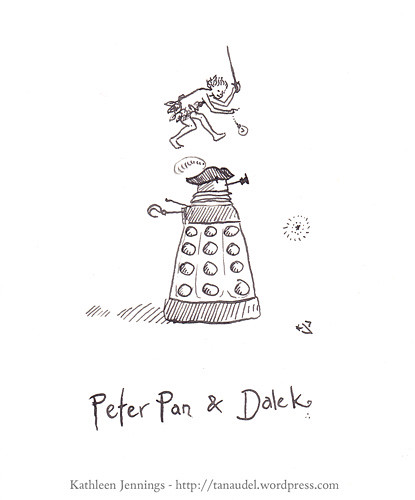 Peter Pan and Dalek