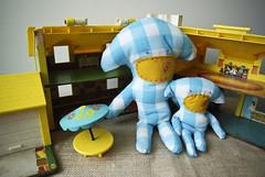 Squid Monkey (thesquidmonkeyproject) Tags: toys monkey plush squid babytoy squidmonkey childrentoy