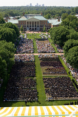 The Quad at Commencement 2007