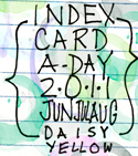 Index Card-A-Day Button