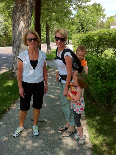Walking to Harper and Madison (Billings,MT) for lunch by markandmandy