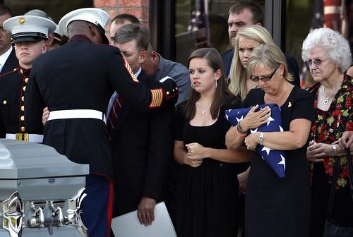 A Marine comes home
