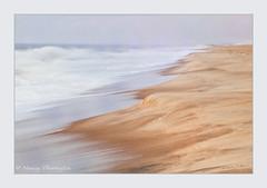 Erosion (nancythorington) Tags: beach water waves erosion delaware delawareseashorestatepark