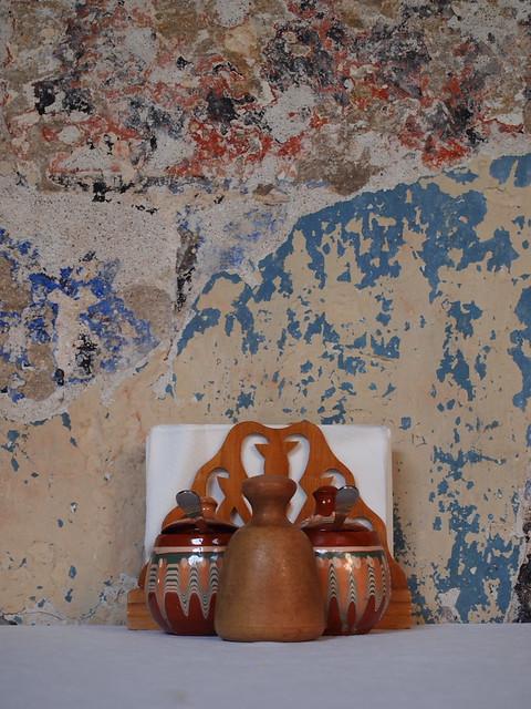 斑駁的牆壁