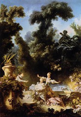 'The Pursuit' (The Progress Of Love Series) Jean-Honor Fragonard, 1771-1772 (pheli) Tags: art painting 18thcentury rococo 1700s thepursuit 1772 1771 jeanhonorfragonard
