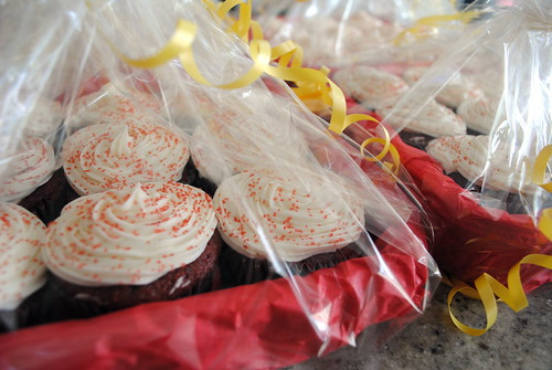 Packaged Cupcakes