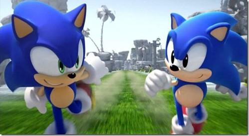 Original Sonic Game An Unlockable in Sonic Generations