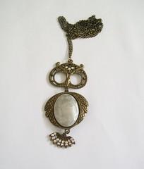 Colar coruja (Marina Rosa Acesrios) Tags: bijoux bijuteria bijuterias peabijuteria